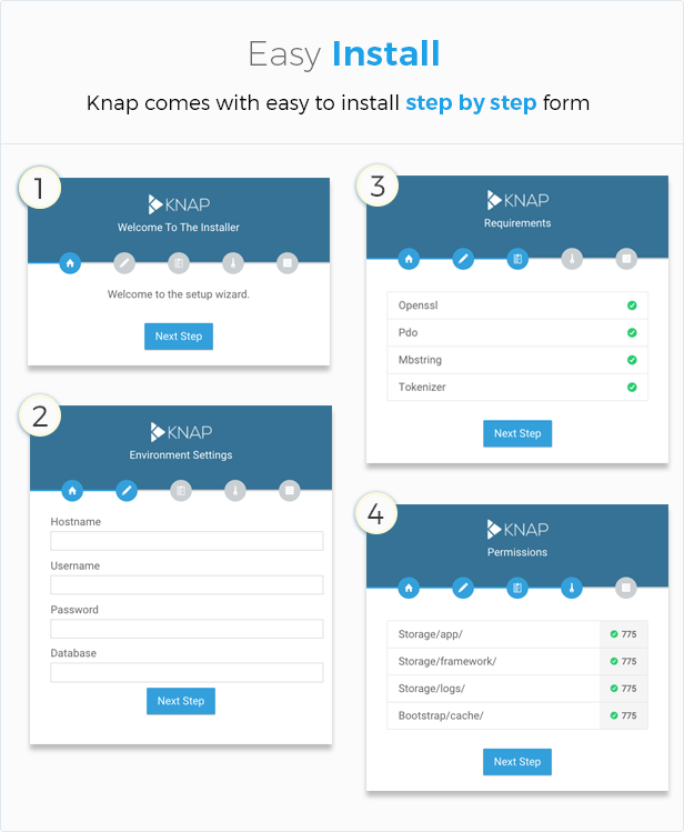 Knap - Advanced PHP Login and User Management Download