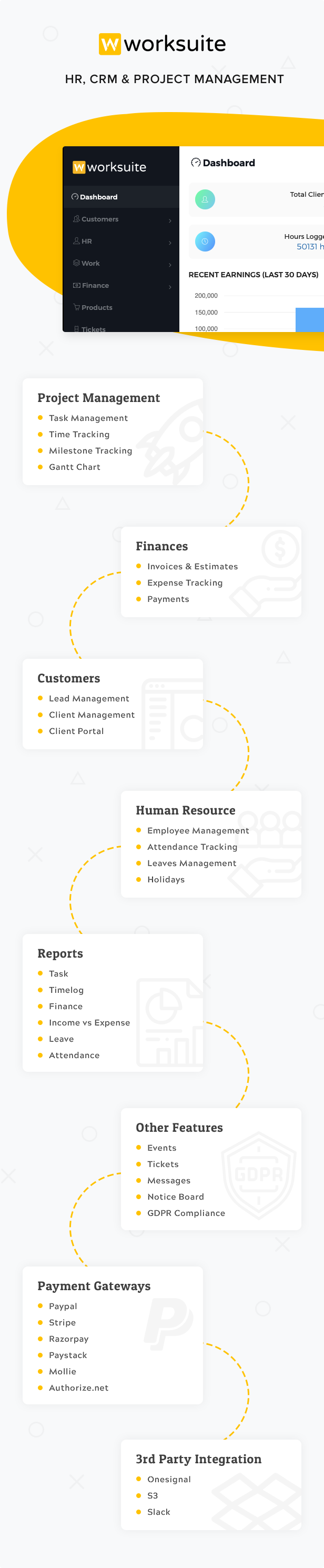 Worksuite Saas - Project Management System - 6
